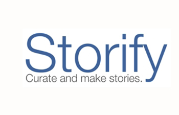 You can use Storify to tell stories and curate